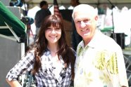 Savannah Lynne and Ron Roberts (San Diego County Supervisor)