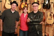 Matthew Ferguson (Fender, Savannah Lynne and Robert Knight (Rock Photographer)