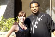 Savannah Lynne and Craig Robinson (The Office, This is the End)