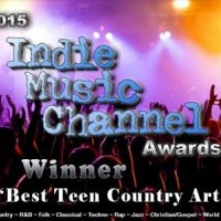 "Savannah Wins ""Best Teen Country Artist of the Year"""