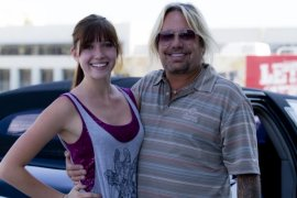 Savannah Lynne and Vince Neil (Motley Crue)