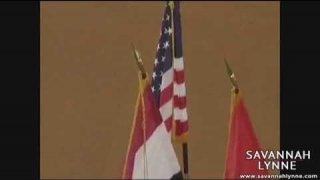 Savannah Lynne - National Anthem - Royals vs White Sox